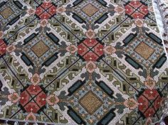 Kαρέ_16 Cross Stitch Embroidery, Cross Stitch Patterns, Cross Stitches, Palestinian Embroidery, Cross Stitch Love, Square Patterns, Afghan Blanket, Crochet Diagram, Knitting Needles
