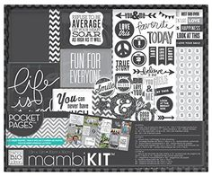 me  my BIG ideas Boxed Album Kit Life is Good 12Inch by 12Inch ** Click image to review more details.Note:It is affiliate link to Amazon.