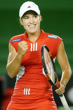 Justine Henin. The women's game is not the same without her.