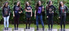 lady in black: Band T-shirts #bandtshirts #bandtee #band #metal #metalgirl #metalwoman #metalchick #rockchick #rockstyle #rockmusic #clothing #rocknroll #rocknrollstyle #rockfashion #merchandise #emp #metalshop #metalmusic