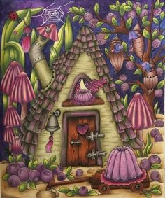 Colouring Pages, Coloring, Markova, Prismacolor, Fairy, Colours, Photo And Video, Celebrations, Cooking Recipes