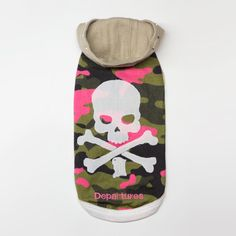 Camouflage × Skull Hoody  http://www.dpts.jp/store/products/detail.php?product_id=327