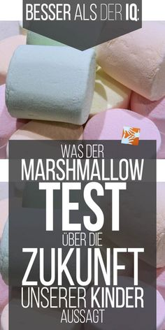 Der Marshmallow-Test und die Zukunftsperspektive unserer Kinder