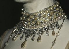 """Worn by Queen Maud of Norway for her Coronation with King Haakon VII (Prince Carl of Denmark & Iceland born Christian Frederik Carl Georg Valdemar Axel) (1872-1957) - 1906.  Princess Maud (Maud Charlotte Mary Victoria """"Harry"""") (1869-1938) of Wales, UK. 5th child of Edward VII (1841-1910) & Alexander of Denmark (1844–1925)."""