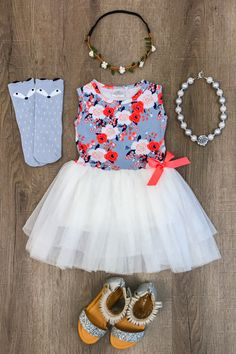 Coralie Sweet Tutu Dress