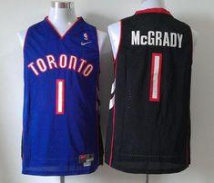 Men's NBA Toronto Raptors #1 Tracy Mcgrady Purple Swingman Jersey
