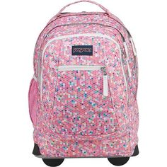JanSport Driver 8 Rolling Backpack, Confetti Jansport Rolling Backpack, Luggage  Bags, Kids Luggage 54ab02b149