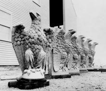 Granite Eagles, Vinalhaven History Online, Eagles, Granite, Mount Rushmore, Maine, Coastal, Island, Mountains, Artwork