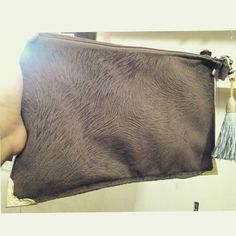 My first project, my clutch bag