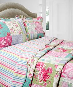 Look at this #zulilyfind! Coronation Vintage Collection Reversible Quilt Set by Pegasus Home Fashions #zulilyfinds