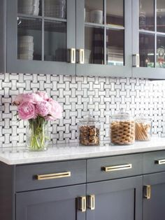 paint the kitchen cabinets navy kitchen with gold accents brittanymakes gorgeous 3957