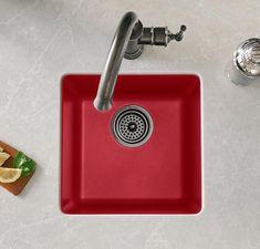 Composite Sinks, Plumbing Fixtures, Kitchen Sink, Quartz, Home Decor, Decoration Home, Bathroom Fixtures, Room Decor, Home Interior Design