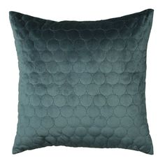Geo Cushion, Teal | Teal Cushions - Barker & Stonehouse