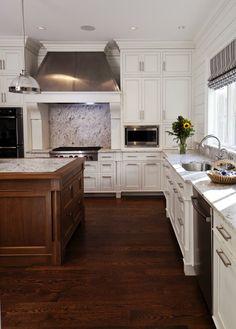 Kitchen   Custom Cabinetry And Island By Morgan Creek Cabinet Company,  Builder, The Garrett