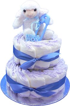 Baby Boy Diaper Cakes | Baby Boy Diaper cake and Toys For Baby Shower Delivery Services! Baby ...