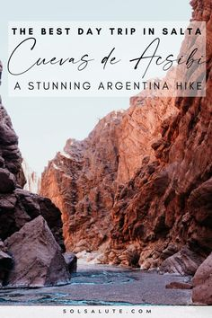 Cuevas de Acsibi Argentina | Things to do in Salta Argentina | Excursiones en Salta Argentina | Salta day trips | Acsibi Caves hike | What to do in Salta Argentina | Things to do in Seclantas Argentina | Things to do in Cachi Argentina | Que hacer en Cachi | Excursiones en Cachi | Best hikes in Argentina | Visit Salta Argentina | Visit Argentina | Outdoorsy things to do in Argentina | Argentina itinerary ideas | South America hikes | Hikes in South America | Ruta 40 road trip Visit Argentina, Argentina Travel, Backpacking South America, South America Travel, Scotland Hiking, Travel Route, Hiking Tips, Best Hikes, Travel Aesthetic