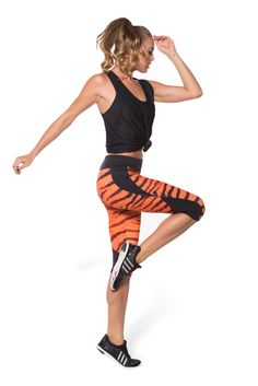 Tiger Stripes Combat Pants  - LIMITED (CAPPED PRESALE - WW $109AUD) by Black Milk Clothing
