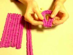 Cómo hacer mariposas de goma eva (foami, fomi). - YouTube