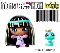 Monster High Mini Cleo & Pet
