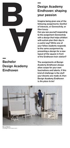 Design Academy Eindhoven - design departments explore the relationship between man and _______
