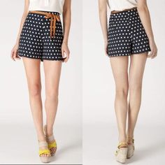 Shop Women's Anthropologie Blue White size 12 Shorts at a discounted price at Poshmark. Description: This are swoon-worthy vintage inspired high waisted polka dot shorts by Corey Lynn Calter purchased at Anthropologie! Amazing high waisted, scalloped hem, and other fun details! Ribbon belt not included.. Sold by romaka. Fast delivery, full service customer support.