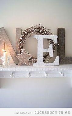Proyectos DIY para decorar tu casa en Navidad elegante y con estilo 7