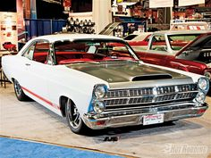 1967 Ford Fairlane - my first car that I paid cash for at age 14, but mine was red.