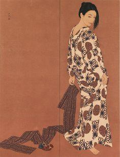 Ikenaga Yasunari - Illustration - Nihonga Style