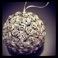 Riciclare capsule nespresso per fare delle palle di natale