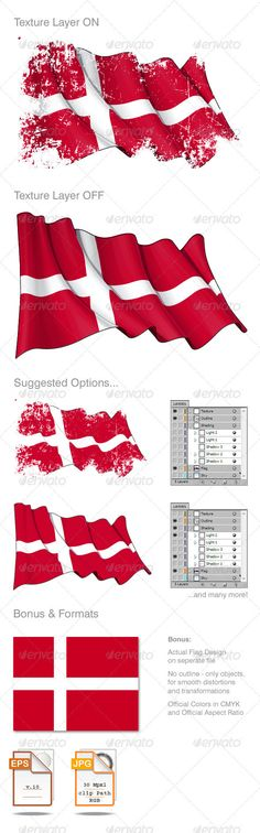 denmark country flag