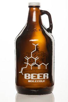 Haus Of Growlers, Molecule, Beer Molecule, Craft Beer, Beer, Science, Growler, Growlers