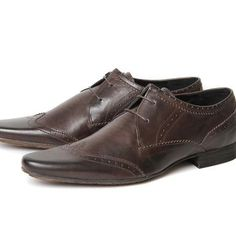 Ellington New Dye Brown ($160.00) - Ellington is the definitive style of H, being the longest standing style we sell it has set a precedent for others to follow. This pointed wing tip brogue has all the details you need. Formal in design, the two eyelet la