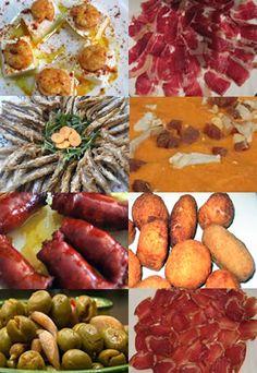 ¡Así son las tapas en Andalucía! Si te apetecen, te esperamos en nuestro local :)