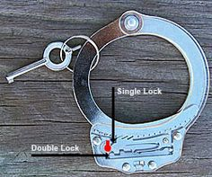 How to pick handcuffs.