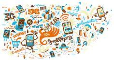 Smart phones by Sebastien Feraut aka Niark1