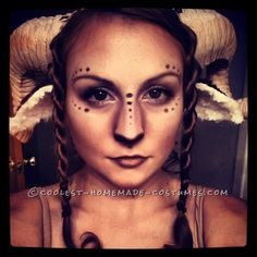 Beautiful Homemade Satyr Costume ... This website is the Pinterest of costumes