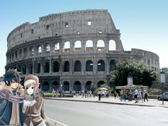 Gray and Juvia to Roma ❤