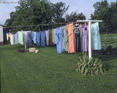 hanging out laundry to sun-dry on a sunny spring or summer day.  The fragrance of wind-dried clean clothes alone is worth the effort.