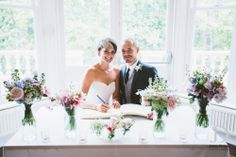 Signing the Register in the Restaurant, beautiful wedding photography by @Jonny Draper