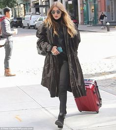 GIGI - 10/25/2016  OUT & ABOUT IN SOHO NYC