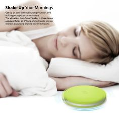 A vibrating alarm clock that you won't want to fling across the room. | 27 Things That Will Make Your Morning So Much Better