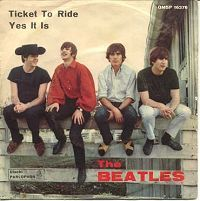 beatles ticket to ride single -