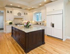 true north kitchens / larger fridge and freezer