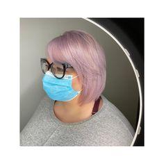 Lilac, pastel hair colour, bob, short hair, purple hair Lilac Hair, Pastel Hair, Lvl Lashes, Keratin Complex, Hair Colour, Color, Hair And Beauty Salon, Best Brand, Cool Hairstyles
