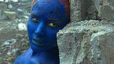 Jennifer Lawrence as Mystique in X-Men: Apocalypse. Photo Credit: Courtesy…