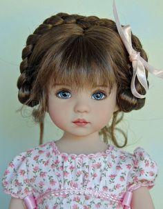 "Monique ""Dani"" Wig in Light Brown for Dianna Effner Little Darling Wig Only | eBay:"