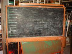 Chalk Board On Wheels