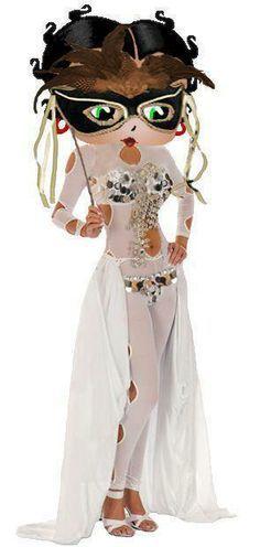 Betty Boop Masquerade - Mardi Gras