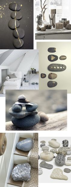 diy – decorate with pebbles and stones