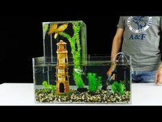 (12) How to Build Unique Multi Level Aquarium v2.0 - YouTube Aquarium Store, Store Supply, Aquarium Supplies, Fish Tanks, Aquarium Shop, Fish Aquariums, Fish Tank Accessories, Aquariums, Fish Tank